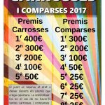 Carrosses i comparses 2017