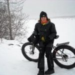 """Isabel Vicente and her bicycle will enter in """"The Magic of Kilimanjaro"""""""
