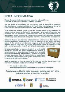 CADENA DE FAVORES_nota informativa castellano