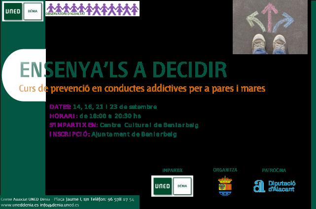Curso de Prevención en conductas adictivas para padres y madres