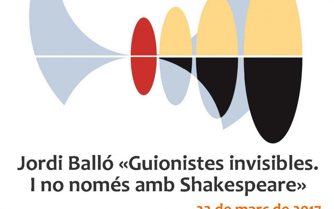 Conferència de Jordi Balló