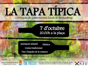 """""""La Tapa Típica"""" s'estrena a l'Octubre Cultural 2017"""