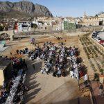 La tradicional festa de Sant Antoni ompli el parc del Girona