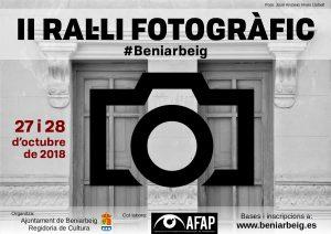 El Ral·li Fotogràfic tindrà la seua segona edició el 27 i 28 d'octubre