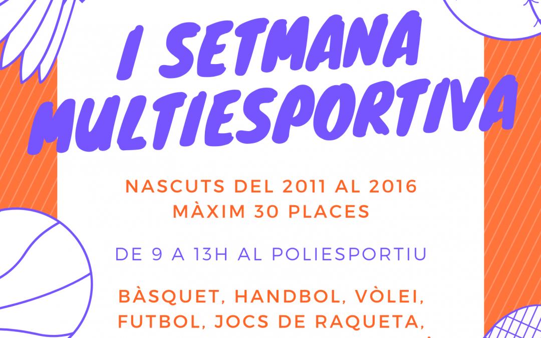 I Setmana Multiesportiva
