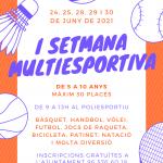 I Semana Multideportiva