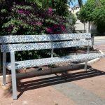 Beniarbeig, primer poble de la Marina Alta a convertir els taps en mobiliari urbà